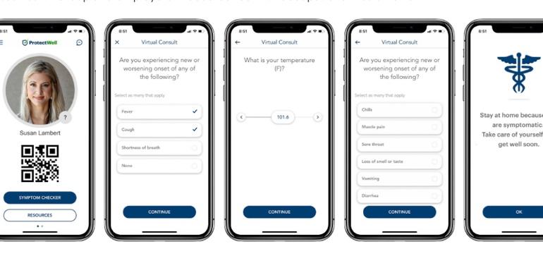 UnitedHealth, Microsoft launch COVID-19 screening app for employers
