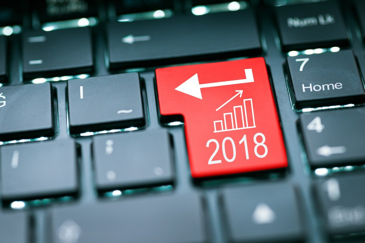 2018 business technology trends at a glance